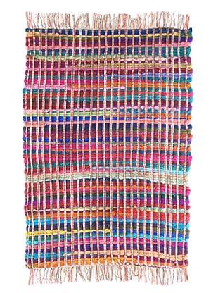 SIGNES DECORA Alfombra Pie de Cama Multicolor 55X85