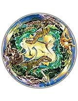 Round Table Puzzle - Prehistoric World (500 Piece)