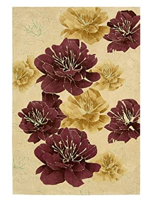 Kathy Ireland Home Joshua Bloom Rug (Sand)