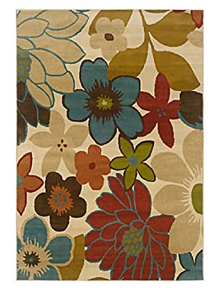 Granville Rugs Aiden Rug (Beige/Black/Orange/Blue/Green/Brown)
