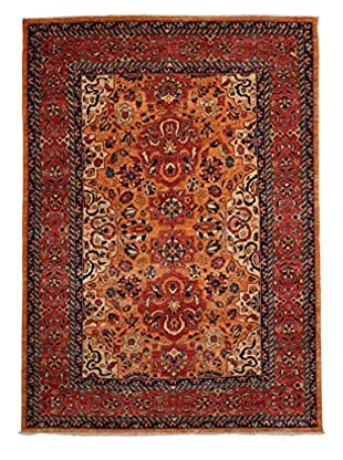 Solo Rugs Traditional Hand-Knotted Rug, Red, 5' 8