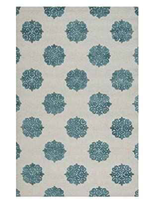 Safavieh Soho Handmade New Zealand Wool Rug (Ivory/Light Blue)