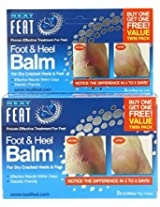 Neat Feet Foot and Heel Balm 75g Twinpack