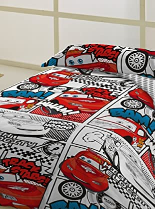 Disney Juego de Funda Nórdica Cars Velocity (Multicolor)