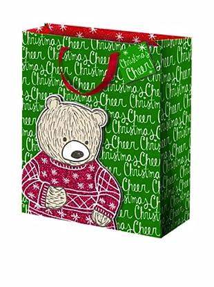 Punch Studio Set of 5 Molly & Rex Gift Bags (Teddy Bear)