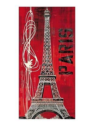 ArtopWeb Panel de Madera Taylor Paris Vibe 100x50 cm