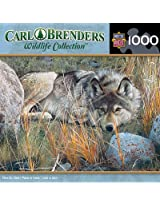 MasterPieces Carl Brenders Wildlife Collection One to One Jigsaw Puzzle, 1000-Piece