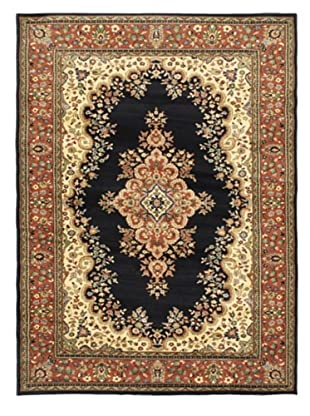 Jardiniere Rug, Copper/Dark Navy, 5' 5
