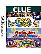 Clue/Mouse Trap/Perfection/Aggravation (Nintendo DS) (NTSC)