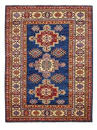 Kalaty One-of-a-Kind Kazak Rug, Blue, 3' 3