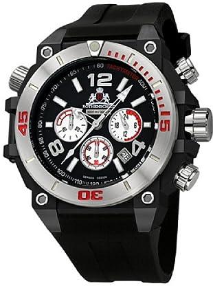 Rothenschild Armbanduhr Silikon/Schwarz/Schwarz