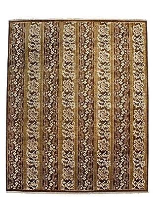 F.J. Kashanian One-of-a-Kind Hand-Knotted SoCal Rug, Chocolate, 8' x 10' 1