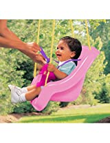 Little Tikes 2in1 Snug N Secure Swing Pink