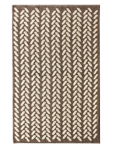 NuLOOM Cable Knitted Rug (Grey)