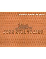 Model Train Scenery Sheets O Scale Builders Sample Pack