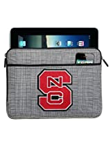 NC State IPAD SLEEVE or NC State Wolfpack TABLET Case Stylish Plaid