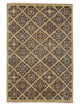 Rug Republic One Of A Kind Hand Knotted Indian Wool Rug, Multi, 4' x 6'
