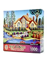 1000-Piece Stepping Stone Creek Puzzle Art by Andy Russell
