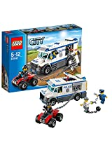 Lego City Police Prisoner Transporter, Multi Color