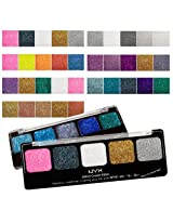 NYX Glitter Cream Palette 7 Piece Set