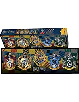 Aquarius Harry Potter Crests Slim Puzzle (1000 Piece)