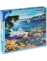White Mountain Puzzles Garden By The Bay 1000 Jigsaw Puzzle By White Mountain Puzzles