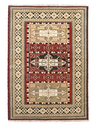 Hand-Knotted Royal Kazak Rug, Gray, 5' 8