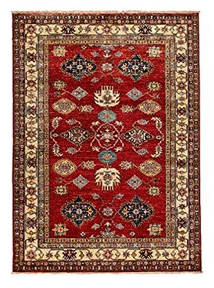 Darya Rugs Fine Kazak Oriental Rug, Rust, 5' 1