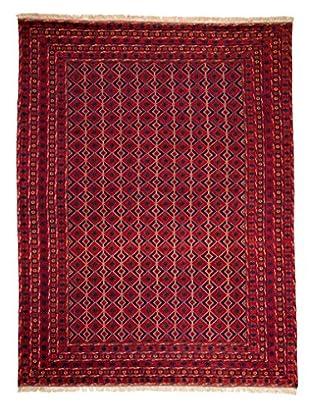 Darya Rugs Traditional Oriental Rug, Red, 7' 2