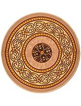 """Agra Dari Woolen Door Mat - 7"""" x 9"""" x 0.39"""", Cream"""
