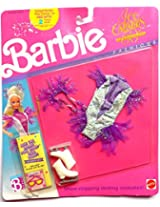 Barbie Ice Capades 50th Anniversary Purple Ice Skating Costume And Skates From 1989