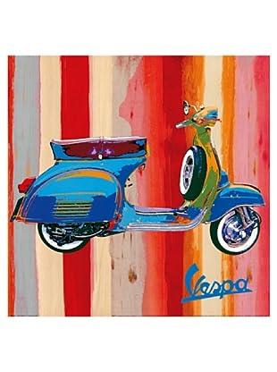 Artopweb Wandbild Salvini Pop Vespa II 50x50 cm mehrfarbig