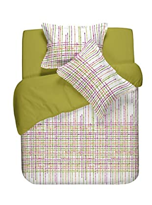 Casual Textil Funda Nórdica Network (Verde)