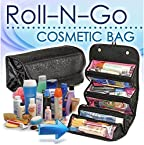Roll N Go 4 in 1 Cosmetic Bag Toiletry Organize jewellery