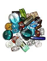 Glass beads jewelry loose beads murano style