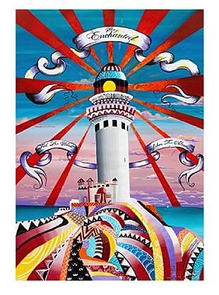 """Giorgio Casu-Lighthouse, 21"""" x 30"""""""