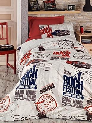 Homemania Bettwäsche Rock mehrfarbig 155 x 200 cm