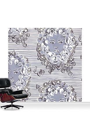 Lana Mackinnon Ivy Faces Mural, Standard, 8' x 8'