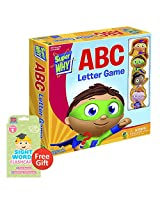 Super Why Abc Letter Game With Your Choice Of Educational Sight Words Flashcards