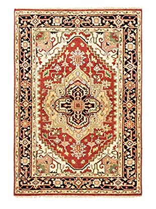 eCarpet Gallery One-of-a-Kind Hand-Knotted Serapi Heritage Rug, Copper, 4' x 6'