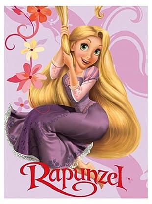 Disney Home Telo Bagno Rapunzel (Rosa)