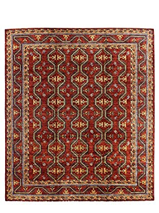 Bashian Rugs One-of-a-Kind Hand Knotted Paki Tribal Rug, Rust, 8' 3