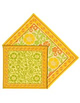 Handmade Placemats And Napkins Set Of 6 Indian Home Decor Cotton Floral