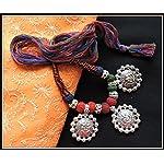 Multicolored Ganesha Thread Necklace - 01