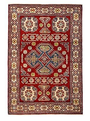 Darya Rugs Kazak Oriental Rug, Red, 4' x 5' 10