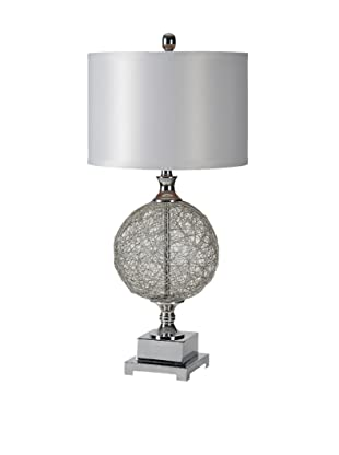 Jasmin Table Lamp, Silver