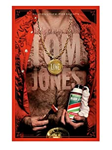 La La Land Posters Tom Jones at Club Nokia