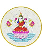 LGW Goddess Lakshmi Silver Precious Coin for Unisex (100Grams)