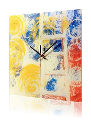 HangTime Designs Rainbow Seekers Wall Clock, Multi