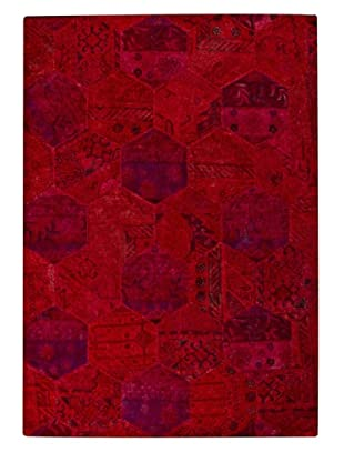 MAT Vintage Honey Comb Rug (Red)
